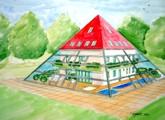 pyramid-house